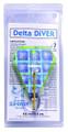 E-Z Tackle 5981 E-Z Diver Delta - Ch/Lazer - 5981