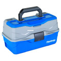 Flambeau 6382TB 2-Tray Hard Tackle - Box-Blue - 6382TB