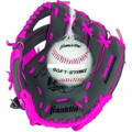 "Franklin 22702 9.5"" Glove/Ball - Graphite/Pink - 22702"
