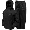 Frogg Toggs AS1310-01LG All Sport - Rain Suit Black|Size LG - AS1310-01LG
