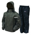 Frogg Toggs AS1310-105MD All Sport - Rain Suit, Stone|Black|Size MD - AS1310-105MD