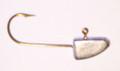 Gitzit 11014 Fat Gitzit Lead Jig - Head, 1/4 oz, 1/0 Hook, 5/Pack - 11014