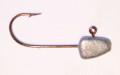 Gitzit 11018 Fat Gitzit Lead Jig - Head, 1/8 oz, 1/0 Hook, 5/Pack - 11018