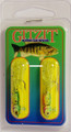 "Gitzit 16184 Little Tough Guy Jig - 1 1/2"", 1/8 oz, Sz 4 Hook, Perch - 16184"