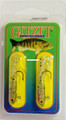 "Gitzit 16185 Little Tough Guy Jig - 1 1/2"", 1/8 oz, Sz 4 Hook, Golden - 16185"