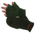 Glacier 759BK-XL Flip Mitt - Windproof Fleece XL - 759BK-XL
