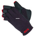 Glacier 757BK-M Fleece Glove Med - Windproof neoprene palm - 757BK-M