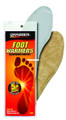 Grabber FWSMES Foot Warmer Insoles - Small-Medium - FWSMES
