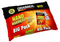 Grabber HWPP10 Big Pack Hand - Warmers 10 Pack of Small 7Hrs - HWPP10