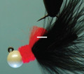 Hawken AJM18135 Aerojig Marabou Jig - 1/8 oz, #1 Hook, Nightmare - AJM18135