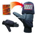 Heat Factory 991 Pop Top Gloves - Black Large - 991