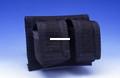HKS 100-B Speedloader Case Black - Double Side-By-Side Cordura Nylon - 100-B