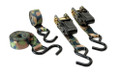 HME HME-RS-4PK Camoufage Ratchet - Tie Down-4Pk - HME-RS-4PK