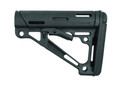 Hogue 15040 AR-15 OverMolded - Collapsible Buttstock for Mil-Spec - 15040