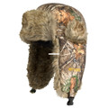 Hot Shot 1E-324C-LX Mens Brushed - Tricot Trapper Hat, Lined With G80 - 1E-324C-LX