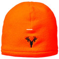 Hot Shot 16-213C Mens Bruin Fleece - Beanie Double Cuff Blaze Orange - 16-213C