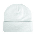 Hot Shot 46-669-SNOW 2Ply Acrylic - Knit Hat W/Rollup Cuff Lined - 46-669-SNOW
