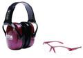 Howard Leight R-01727 Woman - Shooting Combo Kit Muff/Eyewear - R-01727