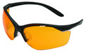 Howard Leight R-01537 Vapor II - Shooting Glasses Blk/Org Clam Pack - R-01537