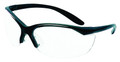 Howard Leight R-01535 Vapor II - Shooting Glasses Blk/Clr Clam Pack - R-01535