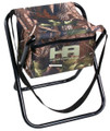 Hunters Advantage DS-1006 Folding - Camo Stool with Storage Pocket 19mm - DS-1006