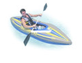 "Intex 68305EP 68305E Boat - Challenger K1 Kayak 109""x31""x16 - 68305EP"