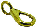 "Invincible Marine BR54342 Eye Snap - Swivel 4-1/2"" Brass - BR54342"