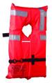 Kent 100100-200-004-1 2 Type 1 Vest - Colar Style Orange Adult - 100100-200-004-1
