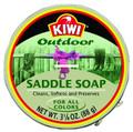 KIWI 10906 Saddle Soap 3-1/8oz - Leather Cleaner - 10906