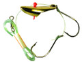 Krippled 12812-KABGOLD-TH Anchovy - Tandem Rig, Gold - 12812-KABGOLD-TH