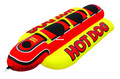 Kwik Tek HD-3 Airhead Hot Dog - 3-Rider Fully Covered Towable - HD-3