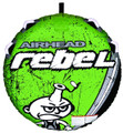 Kwik Tek AHRE-12 Airhead Rebel Tube - Kit Includes Tube,Pump & Rope - AHRE-12