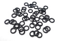 Lethal Weapon LWTa50 50-pack of - Replacement O-Rings, black - LWTA50