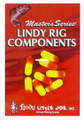 "Lindy CP112 Snell Float, 3/4"" - Fluorescent Orange,8/Pack - CP112"