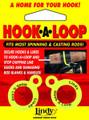 Lindy AC030 Hook-A-Loop Black 2Cd - AC030