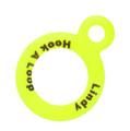 Lindy AC031 Hook-A-Loop Chartreuse - 2Cd - AC031