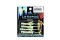 Lip Ripperz LR1-CW32 Lit'l RipperZ - Jig, 1/32 oz, Sz 8 Hook, Casper - LR1-CW32