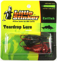 Little Stinker KL-L GL BK/RD Kat - Lure Large Glitter Black/Red 2/Pk - KL-L GL BK/RD
