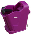 LULA UP60PR UpLULA Universal Pistol - Magazine Loader & Unloader - Purple - UP60PR