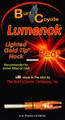 Lumenok GT Red Lighted Nock Gold - Tip 1Pk - GT