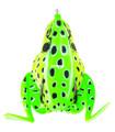 """Lunkerhunt CF09 Combat Frog Hollow - Body Frog, 2 1/2"""", 3/4 oz, Leopard - CF09"""