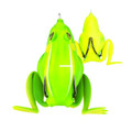 "Lunkerhunt CF01 Combat Frog Hollow - Body Frog, 2 1/2"", 3/4 oz, Jungle - CF01"