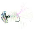 Macks Lure 60234 Smile Blade Fly - #2 Hook, Silver Sparkle Smile - 60234