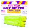 Magic Bait 48-33 Hog Wild Bait - Dipper Grn Dip Worm - 48-33
