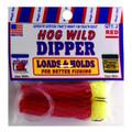 Magic Bait 48-23 Hog Wild Bait - Dipper Red Dip Worm - 48-23