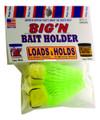 Magic Bait 48-36 Big'N Hook, Size 2 - Treble/Baitholder, Bronze, Green - 48-36