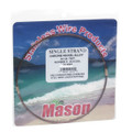 Mason SSBRO-5 Stainless Steel Wire - Leader Material 44Lb 25' .014 Brown - SSBRO-5