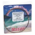 Mason SSBRO-6 Stainless Steel Wire - Leader Material 58Lb 25' .016 Brown - SSBRO-6