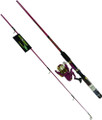 Master DN492-WL Roddy Hunter - LED-Lite Spin Combo, With Line, 3BB - DN492-WL