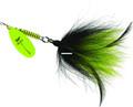 Mepps BM HC-BC Musky Killer In-Line - Spinner-3/4 oz hot chart-black/chart - BM HC-BC